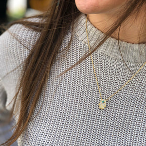 Ashbury Necklace in Silver