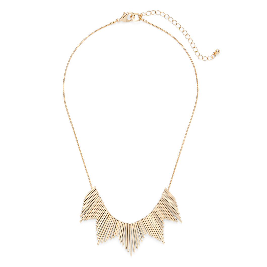 Helios Necklace in Gold