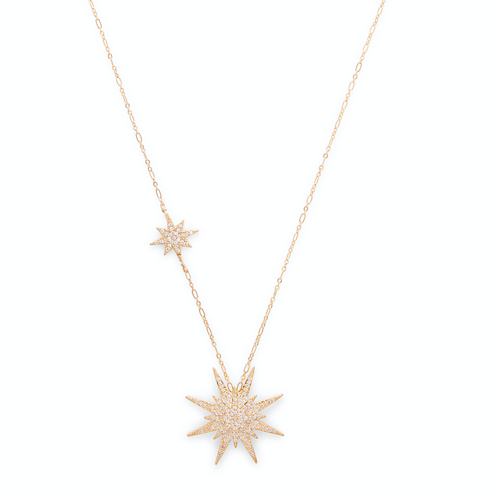 Juliana Star Pendant in Gold