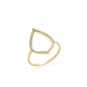 Spire Ring in Gold