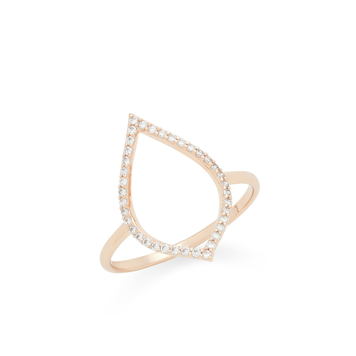 Spire Ring in Rose Gold