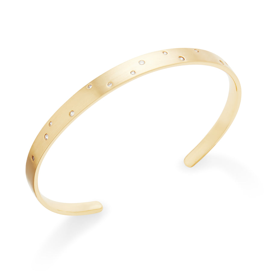 Brier Cuff in Gold