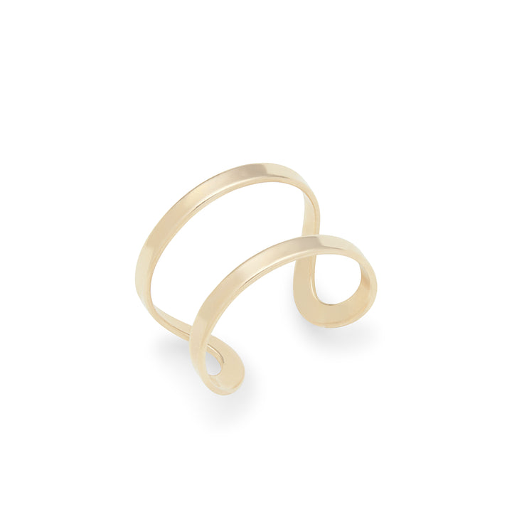 Tash Adjustable Ring in Gold