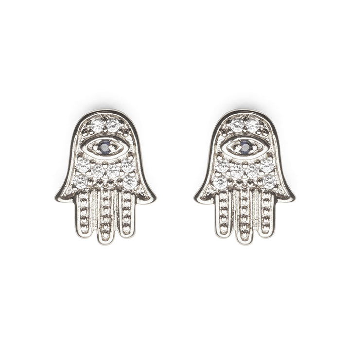 Haight Studs in Silver