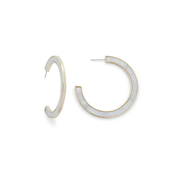 Millie Hoops in Mother of Pearl