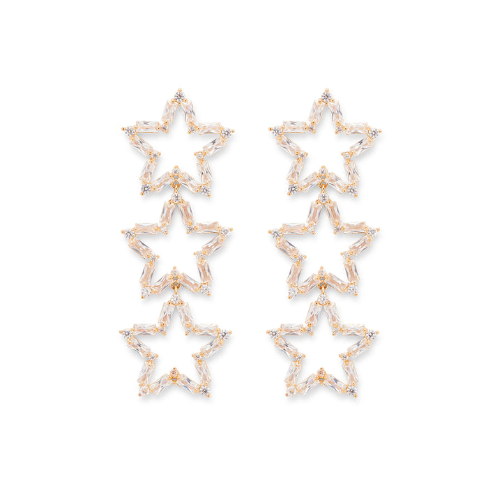 Sophie Star Drops in Gold