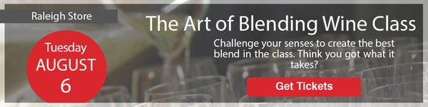 The Art of Blending Wine Class - Raleigh
