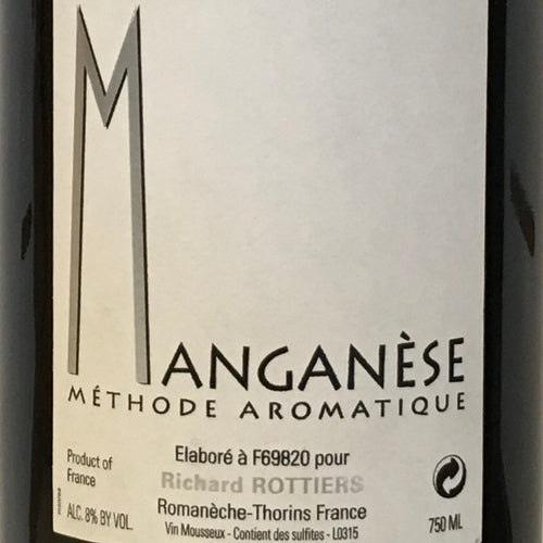 Richard Rottiers 'Manganese' - Sparkling Gamay