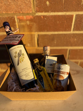 Barolo and Truffles Basket