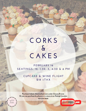 Corks and Cakes - Valentine's Edition