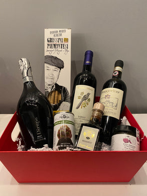 A Journey Through Italy in a Basket