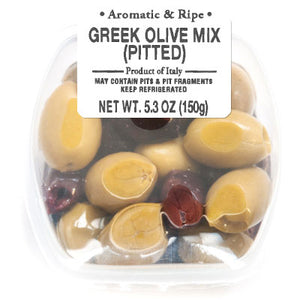 Ficacci - Greek Olive Mix Pitted