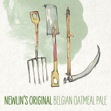 Haw River 'Newlin's Original' - Oatmeal Pale Ale - 4 pack