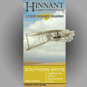 Hinnant Family Vineyards - Southern White - Muscadine