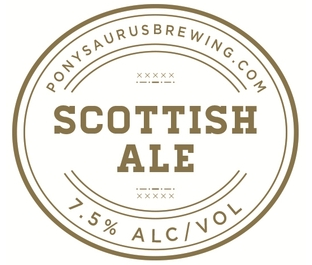 Ponysaurus - Scottish Ale - 4 pack