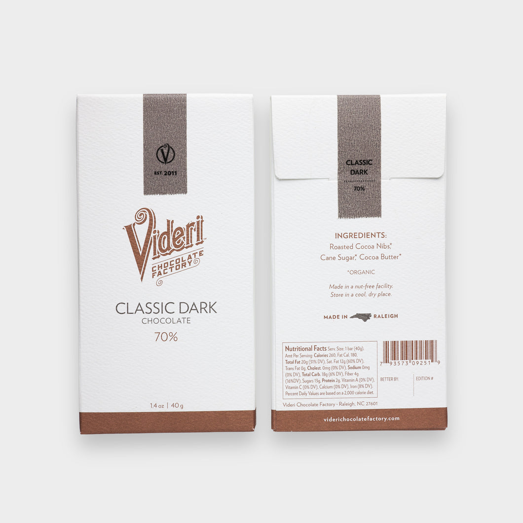 Videri - Classic Dark Chocolate