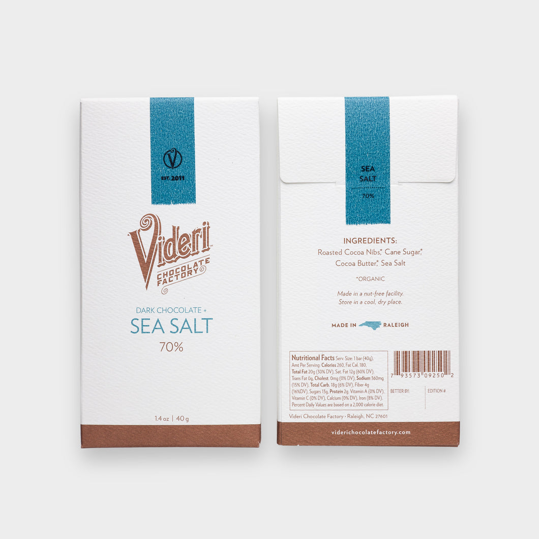 Videri - Sea Salt Chocolate
