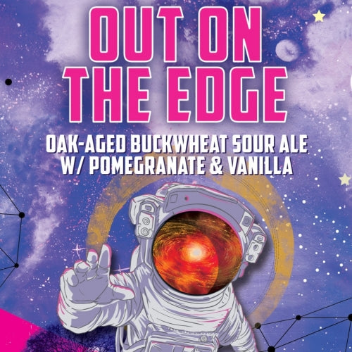 Durty Bull 'Out On The Edge'- Buckwheat Sour - 4 pck