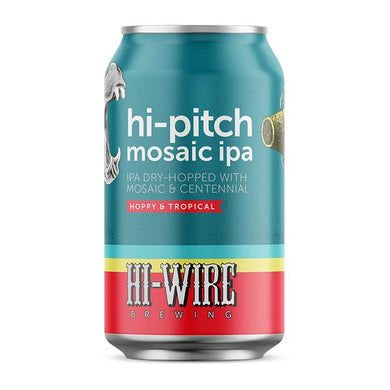 Hi-Wire 'Hi-Pitch' - Mosaic IPA - 6 pack