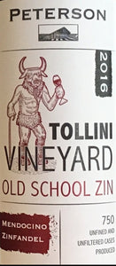 "Peterson ""Tollini Vineyard"" - Old School Zinfandel"