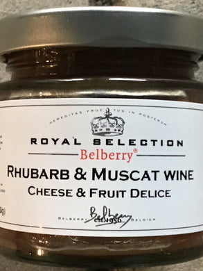 Rhubarb & Muscat Wine Compote
