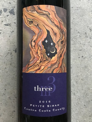 Three - Petite Sirah - Contra Costa County