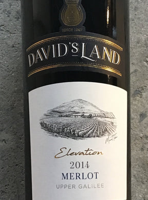 David's Land 'Elevation' - Merlot - Galilee