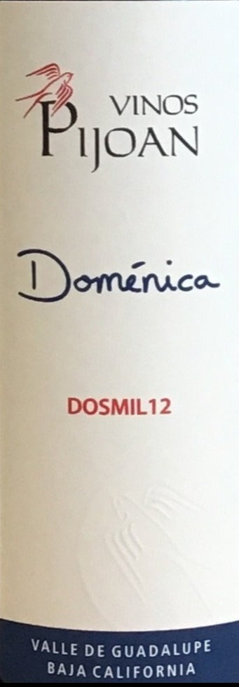 Vinos Pijoan 'Doménica' - Red Blend - Mexico