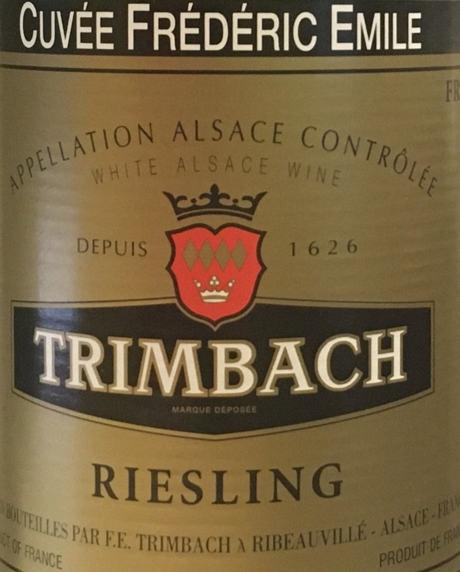 Trimbach 'Cuvee Frederick Emile' - Riesling