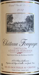 Chateau Fompeyre - Castillon Cotes de Bordeaux - red