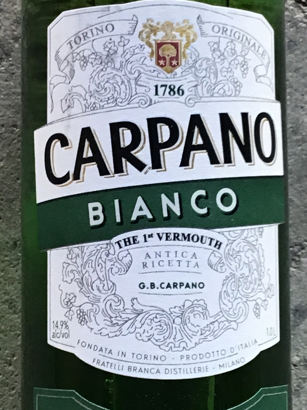 Carpano Bianco - Sweet White Vermouth