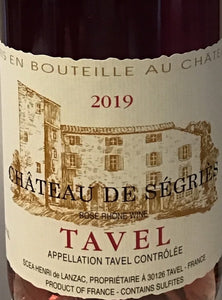 Chateau de Segries - Tavel rose