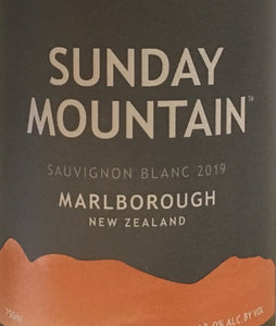 Sunday Mountain - Sauvignon Blanc