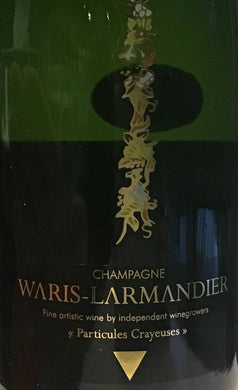 Waris Larmandier 'Particules Crayeuses' - Champagne Extra Brut