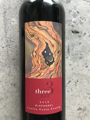 Three - Zinfandel - Contra Costa County