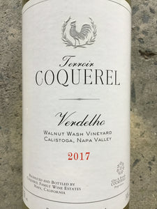 "Coquerel ""Walnut Wash"" - Verdelho"