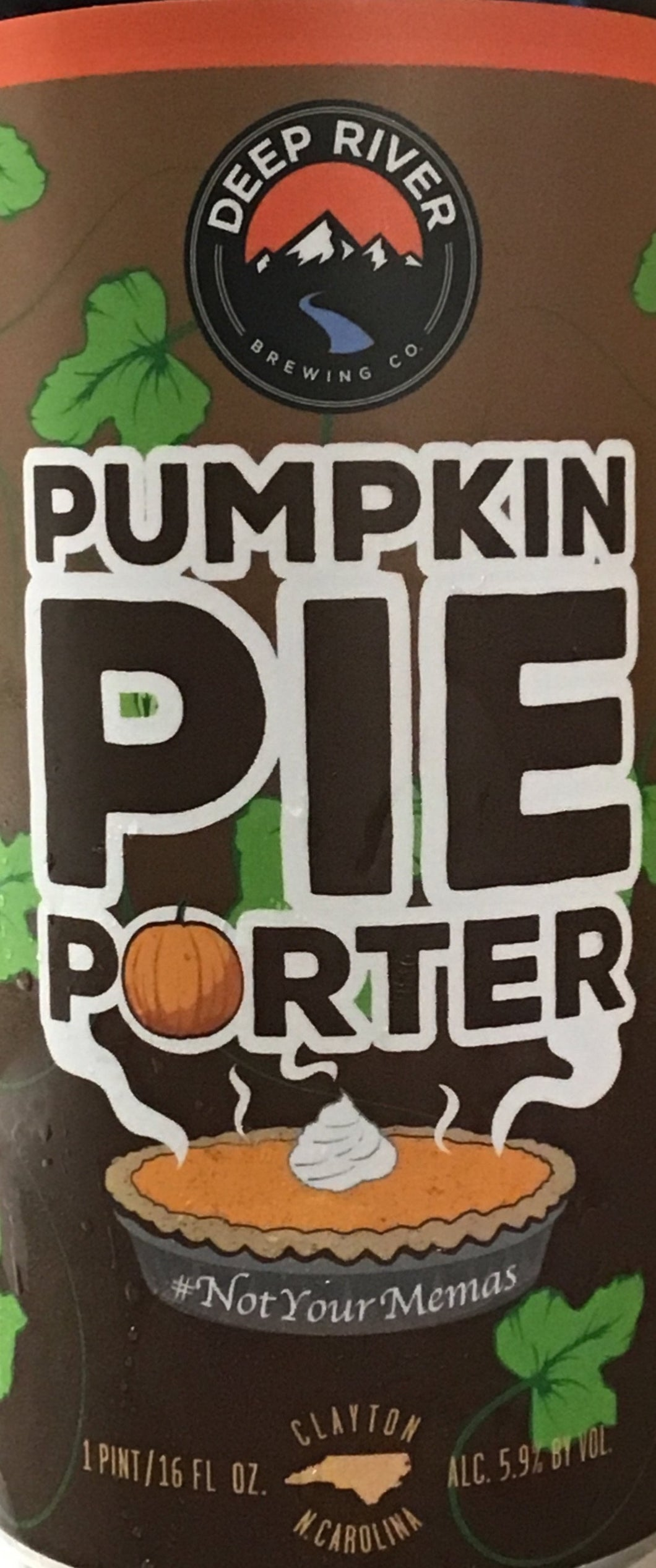 Deep River - Pumpkin Pie Porter - 4 pack