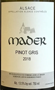 Mader - Pinot Gris - Alsace