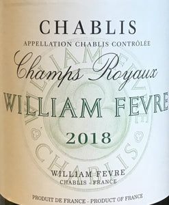 "William Fevre ""Champs Royaux"" - Chablis"