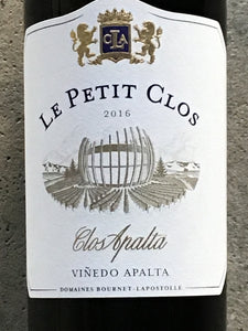 Lapostolle 'Le Petite Clos' - Red Blend - Apalta Valley