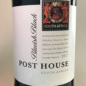 Post House 'Blueish Black' - red blend