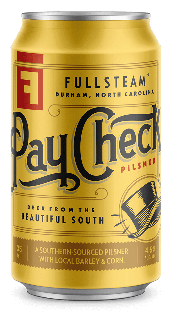 Fullsteam Paycheck - Pilsner - 6 pack