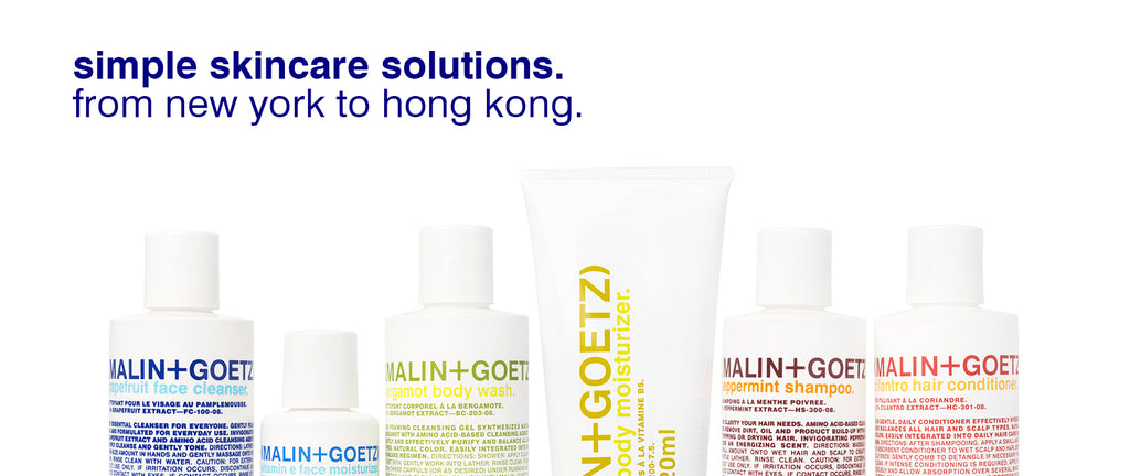 Simple Skincare Solution from new york to hong kong