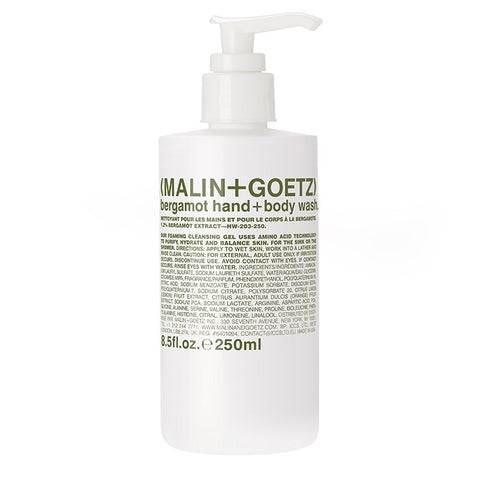 bergamot hand+body wash. | (MALIN+GOETZ) HK
