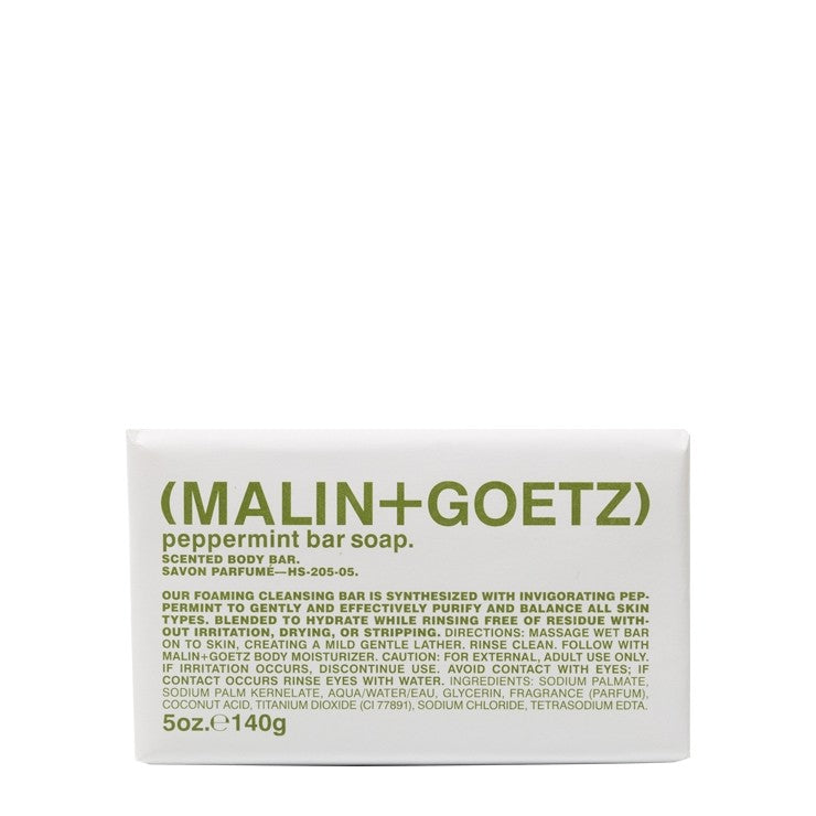 MALIN+GOETZ HK peppermint bar soap.