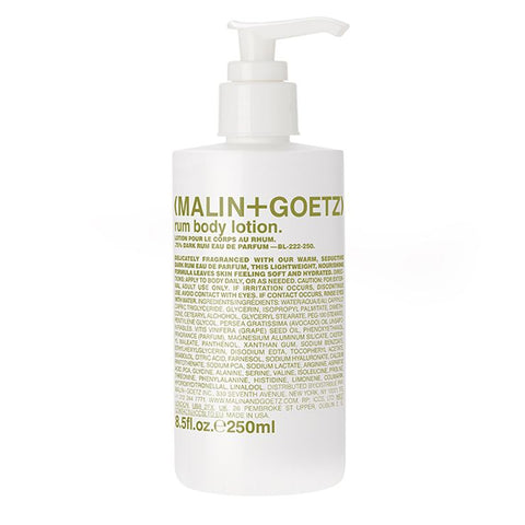 rum body lotion. | (MALIN+GOETZ) HK