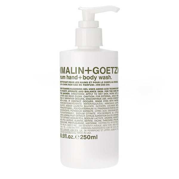rum hand+body wash. | (MALIN+GOETZ) HK