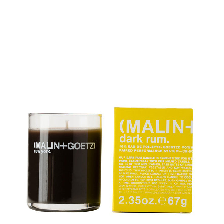 malin+goetz dark rum votive