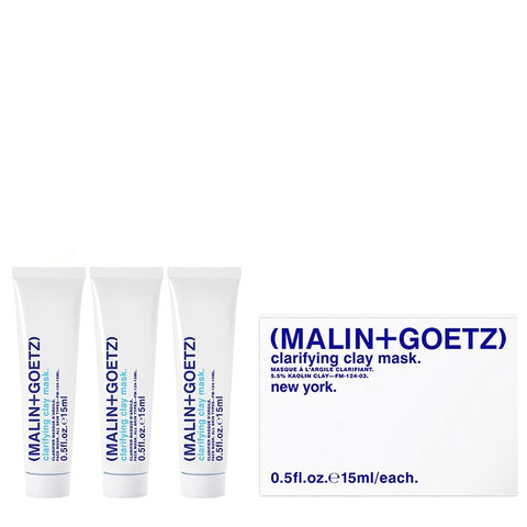 clarifying clay mask travel set. | (MALIN+GOETZ) HK