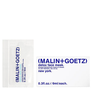 detox face mask travel set. | (MALIN+GOETZ) HK